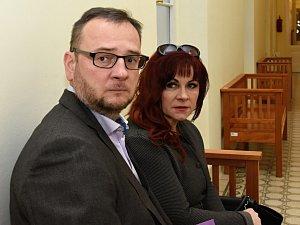 Jana Nečasová (dříve Nagyová) a Petr Nečas.
