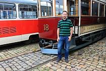 Jiří Trnka, technik Plzeňských městských dopravních podniků.
