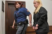Trest v dolní polovině sazby od 15 do 20 let vězení požaduje státní zástupkyně Miloslava Zagarová pro třiatřicetiletou ženu, která podle obžaloby v říjnu roku 2013 na Benešovsku porodila dítě a jeho tělo spálila v kotli na tuhá paliva.