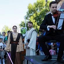 Oslava Dne Star Wars v Praze v klubu Cross 7. května