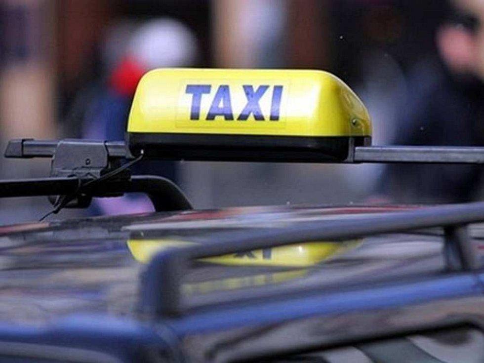 Taxi. Ilustrační foto.