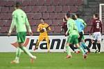 Utkání Evropské ligy 26. 11. 2020: Sparta Praha - Celtic Glasgow 4:1.