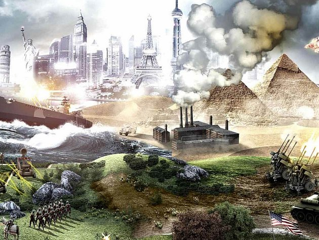 Počítačová hra Civilization V: The Complete Edition.