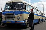 Autobusový den PID u příležitosti oslav 25. výročí příměstských autobusových linek Pražské integrované dopravy. Letňany.
