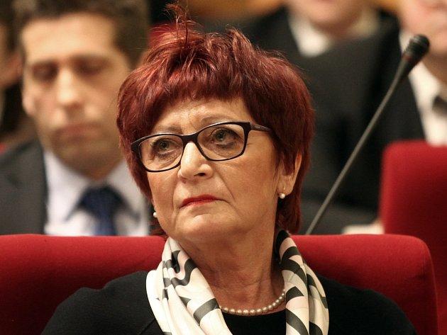 Náměstkyně pražské primátorky pro finance a rozpočet Eva Kislingerová.