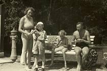 Rodina Winternitzova před válkou.
