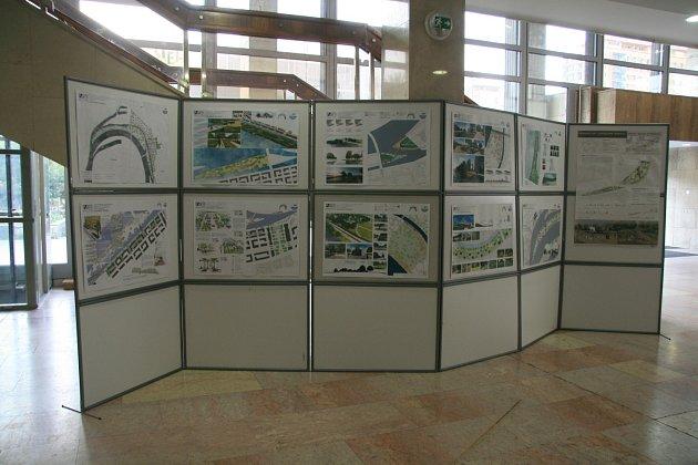 Výstava Karlínské ostrovy vKD Ládví.