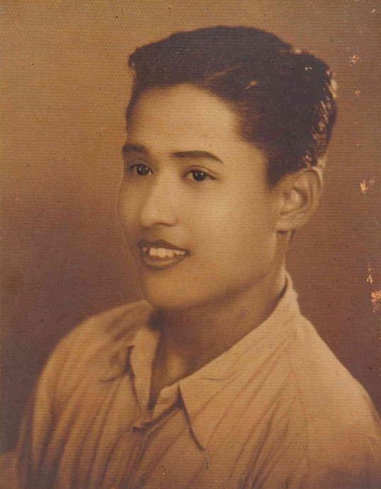 Otec pamětníka Linna Thanta.