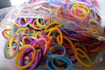 Zabavené gumičky.