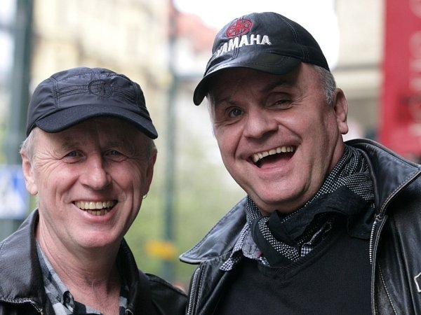 Jožo Ráž a Jano Baláž ze skupiny Elán