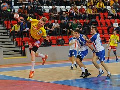 Na tři výlety k belgické brance se dostal Ondřej Šimůnek. Všechny proměnil v gól.