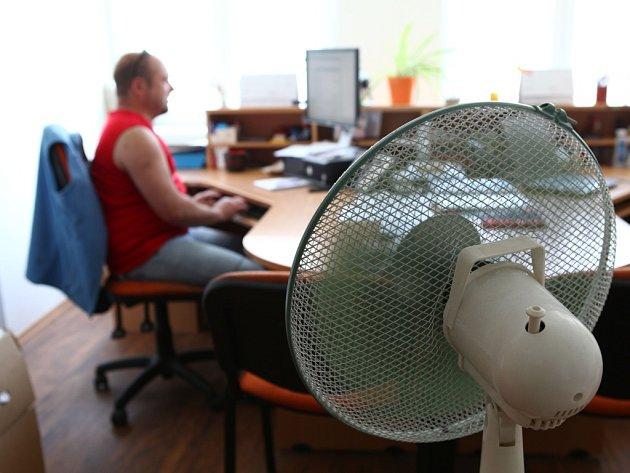 Klimatizace. Ilustrační foto.