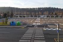 V Braníku vzniklo nové parkoviště P+R.
