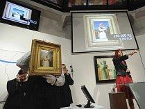 Aukce obrazů. Ilustrační foto.