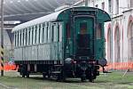 Areál Muzea železnice a elektrotechniky NTM na Masarykově nádraží.