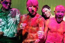 Kalifornská kapela Red Hot Chili Peppers.