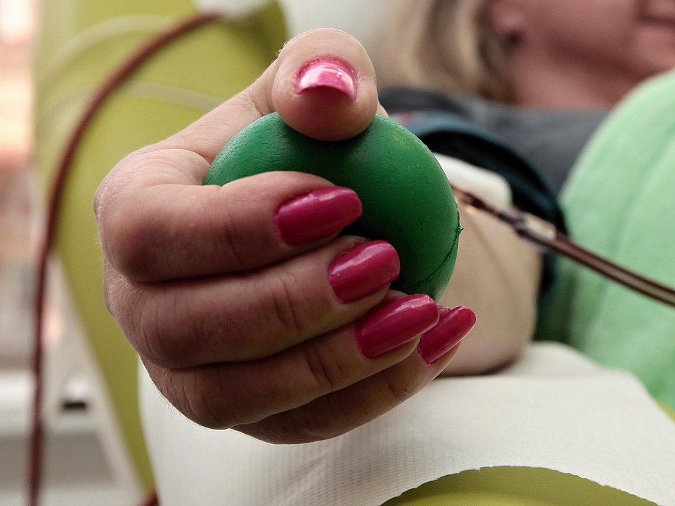 Darováni krve.