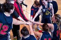 Basketbalistky Sparta Praha.