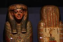 Náprstkovo muzeum vystavuje egyptské mumie.