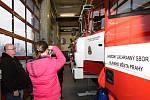 Den otevřených dveří u hasičů v Modřanech