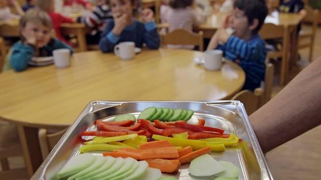 Zdravé stravování vMateřské škole Semínko.