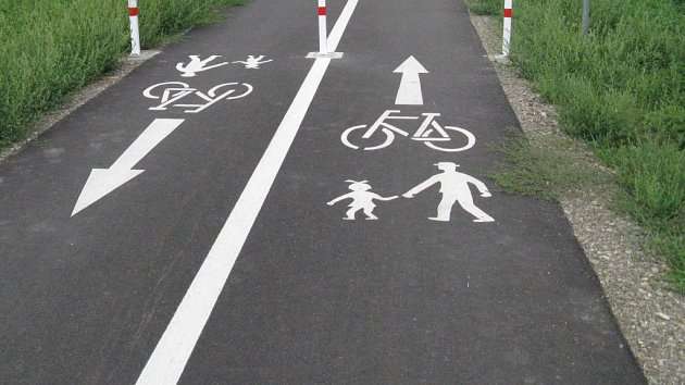 Cyklostezka. Ilustrační foto.