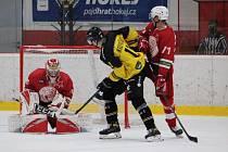 Hokejisté Slavie budou v sobotu bojovat o čtvrtou výhru v řadě. Do Edenu přijede Vrchlabí.