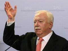 Starosta Vídně Michael Häupl.