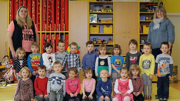 MŠ Tyršova - Žlutá třída - zleva učitelky Pavla Kadlecová a Michaela Koubíková.