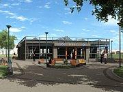 Zhruba za osm let by mohli cestující slyšet hlášení, ve které stanici nové trasy metra D se zrovna nacházejí. Takto to má vypadat v Libuši na jihu metropole.