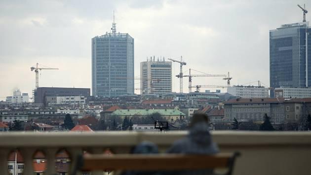 Zástavba v Praze. Ilustrační foto.