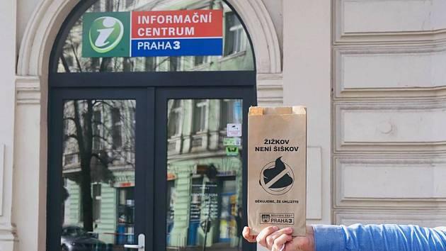 Žižkov není Šiškov. Radnice Prahy 3 bojuje proti psím exkrementům v ulicích.
