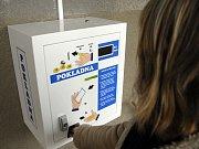 Platební automat vThomayerově nemocnici vPrazeKrči
