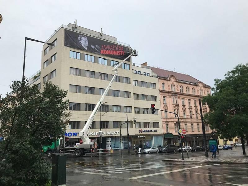 Praha si připomíná památku Milady Horákové u příležitosti 70. výročí justiční vraždy.