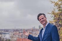 Kandidát SPD Jan Čížek.