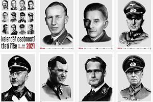 Nakladatelství Naše vojsko vydalo kalendář s nacisty.