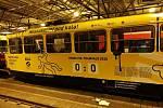 """Kapmaň pražského dopravního podniku (DPP) s názvem """"Neskákej mi pod kola!"""" pokračuje i v roce 2020. Na začátku února s bilancí 0:0."""