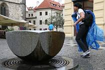 Pítko v Celetné ulici v Praze.