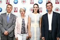 Ze zahájení celonárodní charitativní akce Z lásky k dětem.