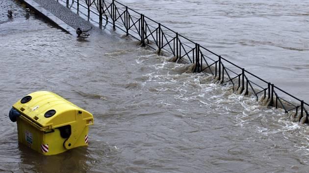 Povodně v Praze – pondělí 3.června.