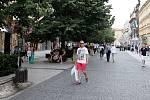 Ulice Na Příkopě. Ilustrační foto.