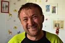 Jiří Macek, středočeský krajský šéfredaktor Deníku a v současné době hodně příležitostný sportovec.