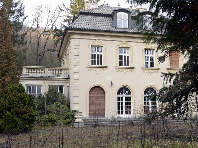 Vila Radovana Krejčíře v Černošicích.