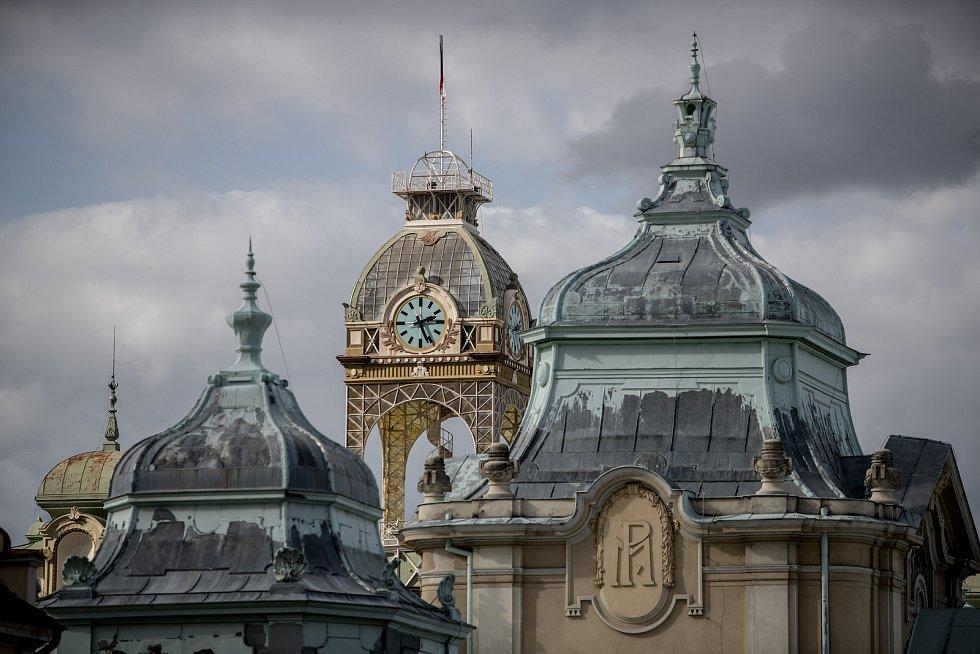 Průmyslový palác na holešovickém Výstavišti v Praze.