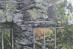 Botanická zahrada - proměna horské části skleníku Fata Morgana - vitrína.