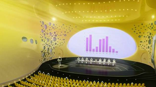 Žlutý koncertní sál