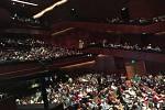 Těsně před chilským koncertem houslisty Jaroslava Svěceného bylo jasné, že bude plno - a bylo!
