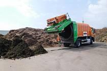 Pražská kompostárna ve Slivenci funguje už rok. Město plánuje další.