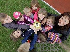 Atletická olympiáda mateřských škol
