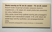 Z expozice Národního pedagogického muzea v Praze.